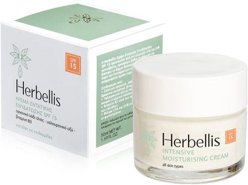 Κρέμα Εντατικής Ενυδάτωσης SPF 15 - Herbellis