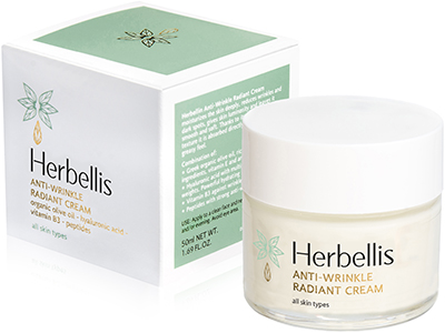 ANTI-WRINKLE RADIANT CREAM HERBELLIS
