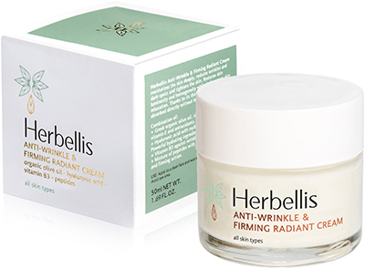 ANTI-WRINKLE & FIRMING RADIANT CREAM HERBELLIS